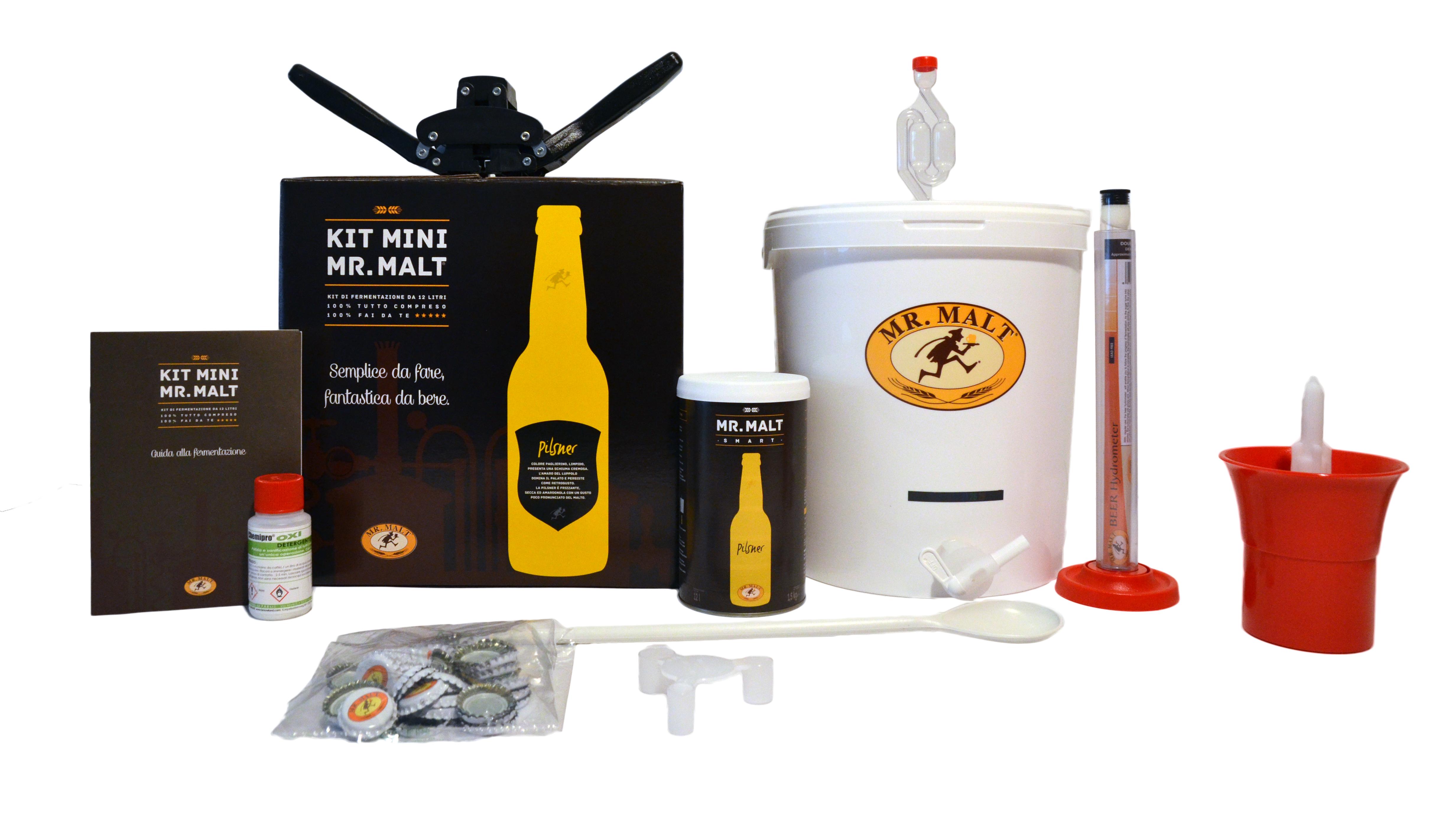 Mini imbottigliatore completo di rubinetto Home Brew Online